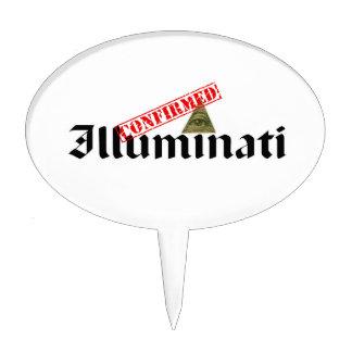 Illuminati Confirmed Cake Topper