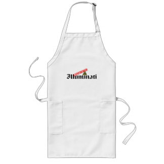 Illuminati Confirmed Long Apron