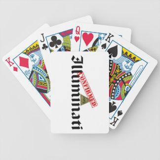 Illuminati confirmó baraja de cartas bicycle