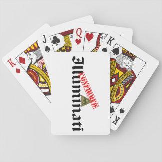 Illuminati confirmó barajas de cartas
