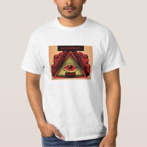 ILLUMINATI – DON'T LET THE EYE FOOL THE MIND T-Shirt
