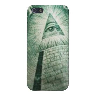 Illuminati Eye iPhone 5/5S Cases