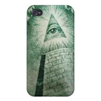 Illuminati Eye iPhone 4 Cover