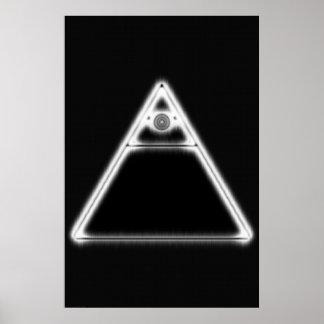 Illuminati Eye Poster