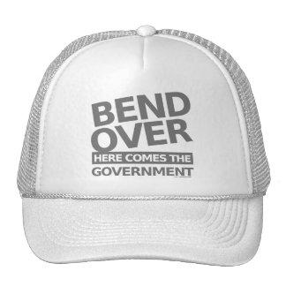 ILLUMINATI GOVERNMENT TRUCKER HAT