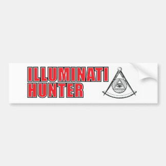Illuminati Hunter Bumper Sticker Car Bumper Sticker
