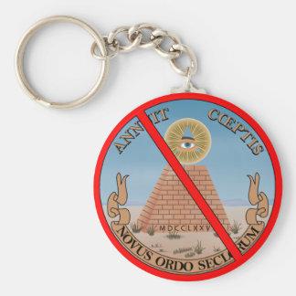 illuminati keychain