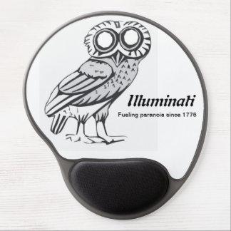 Illuminati Mousepad - búho de Minerva Alfombrillas Con Gel