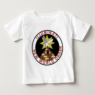 ILLUMINATI NEW WORLD ORDER NOVELTY PATCH BABY T-Shirt