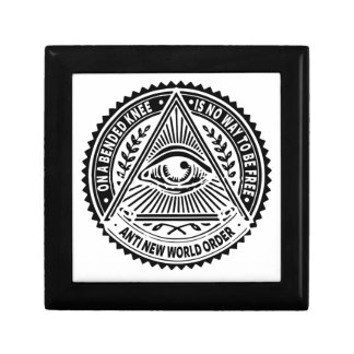 Illuminati - On A Bended Knee Is No Way To Be Free Gift Boxes