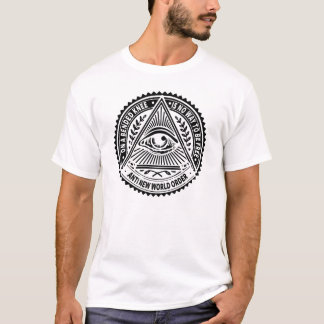 Illuminati - On A Bended Knee Is No Way To Be Free T-Shirt