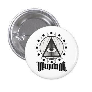 Illuminati Pin Redondo De 1 Pulgada