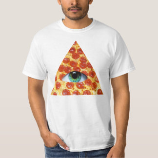 Illuminati Pizza T Shirt