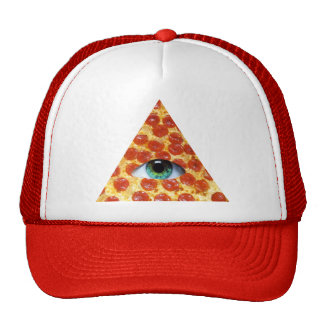Illuminati Pizza Trucker Hat