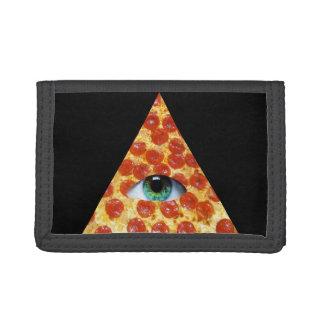 Illuminati Pizza Trifold Wallet