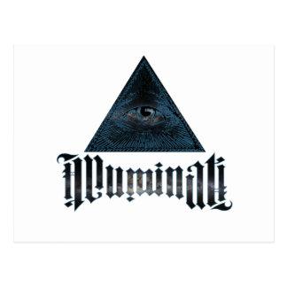 Illuminati Postcard