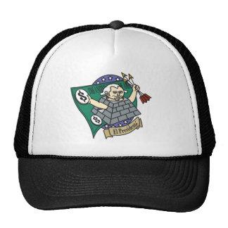 Illuminati President Trucker Hat