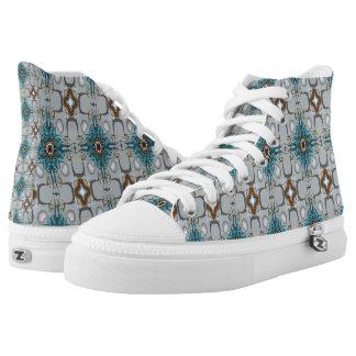 Illuminati Printed Shoes