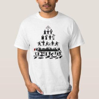 Illuminati Pyramid of Control T Shirt