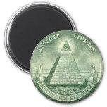illuminati refrigerator magnets