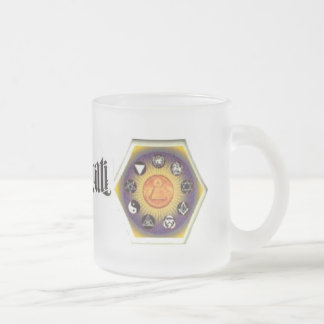 Illuminati Resistance Frosted Mug