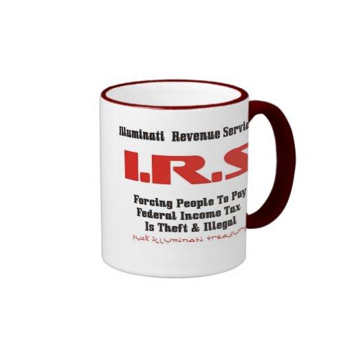 Illuminati Revenue Services I.R.S Mugs