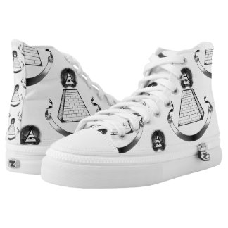 illuminati shoes sneakers printed shoes