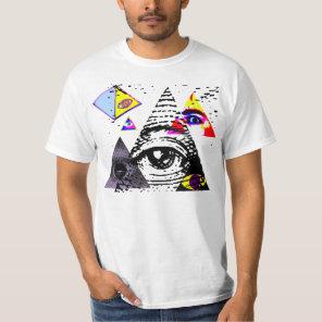Illuminati Symbols T-Shirt