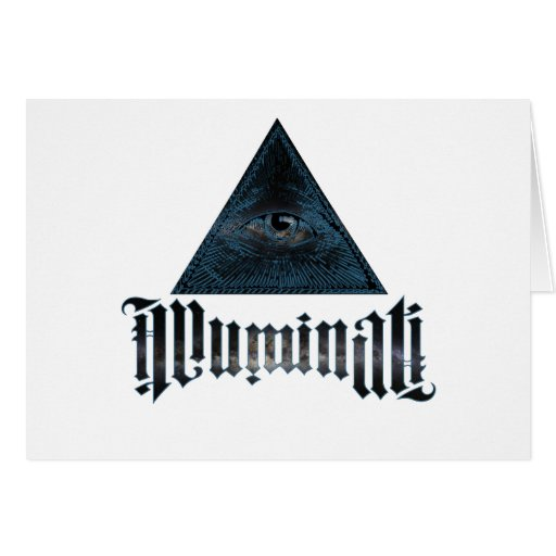 Illuminati Tarjeta De Felicitación