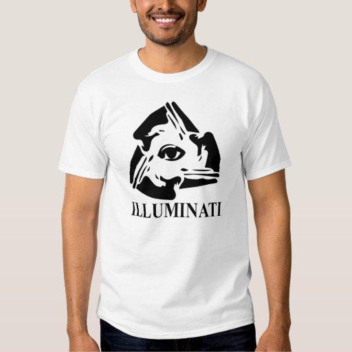 Illuminati - toda la camiseta del ojo que ve poleras