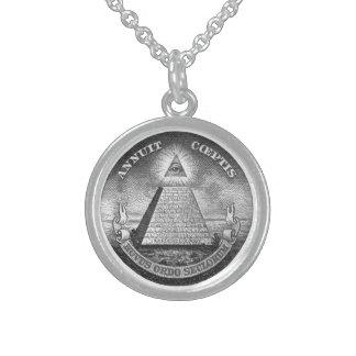 Illuminati todo el ojo que ve joyería