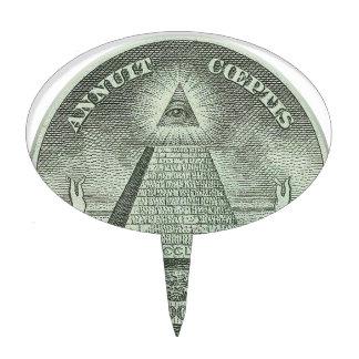 Illuminati - todo el ojo que ve decoraciones para tartas