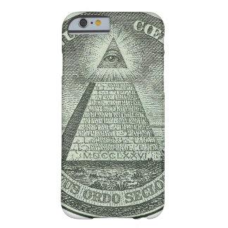 Illuminati - todo el ojo que ve funda barely there iPhone 6
