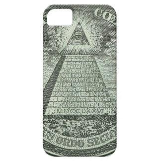 Illuminati - todo el ojo que ve iPhone 5 funda