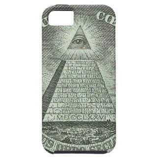 Illuminati - todo el ojo que ve iPhone 5 fundas