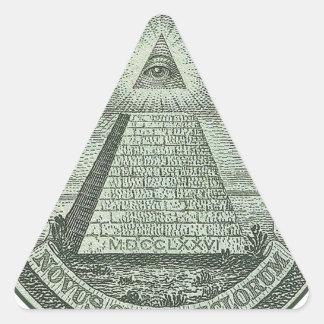 Illuminati - todo el ojo que ve colcomanias trianguladas personalizadas