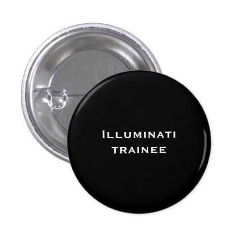 Illuminati trainee 1 inch round button