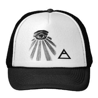 illuminati trucker hat