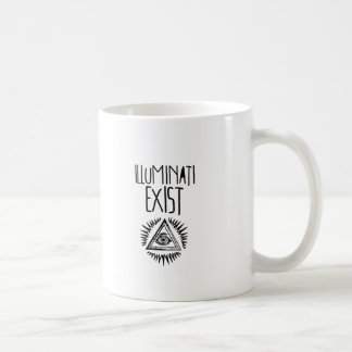illuminati tshirt tazas de café