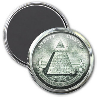 Illuminati US Great Seal Magnet