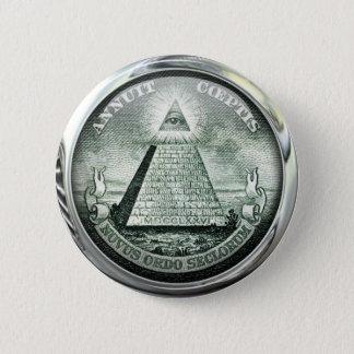 Illuminati US Great Seal Pinback Button