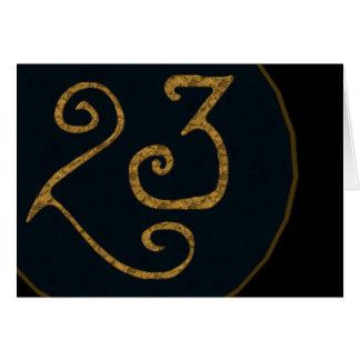 Illuminatigon 23 card