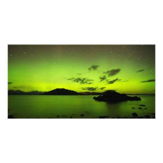Illuminating Aurora Card