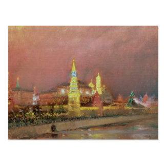 Illumination in the Kremlin, 1896 Postcard