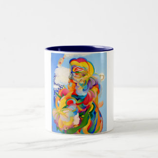 Illumination, Justice and Fertility Two-Tone Coffee Mug