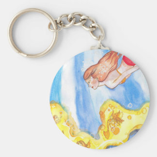 Illumination Mermaid Key Ring