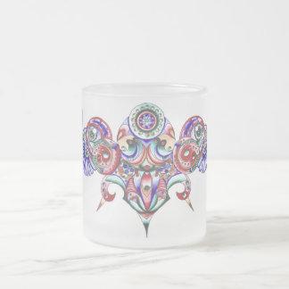 Illumination 10 Oz Frosted Glass Coffee Mug