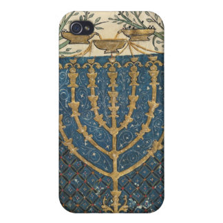 Illumination of a menorah, from iPhone 4 cover