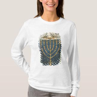 Illumination of a menorah, from T-Shirt