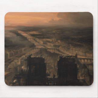 Illumination of Notre Dame Mouse Pad